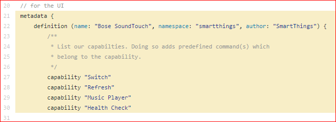 Bose Soundtouch missing from Authorize Things / ActionTiles